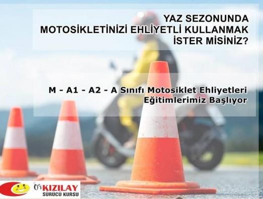 A2 MOTOSİKLET EHLİYETİ